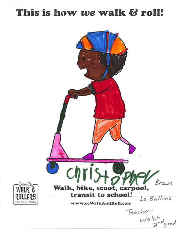 Coloring Contest | Walk N Rollers